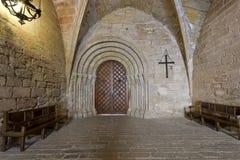 πραγματικό santa poblet μοναστηριών de input Μαρία Στοκ Φωτογραφία