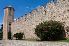 πραγματικό santa poblet monasterio de Μαρία Στοκ Εικόνα