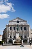 πραγματικό teatro της Μαδρίτης Στοκ Φωτογραφίες