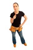πρακτική γυναίκα Στοκ φωτογραφία με δικαίωμα ελεύθερης χρήσης