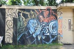 Πρακτικός, W Γ Φόρος Arkwork στη Μέμφιδα, TN στοκ εικόνες με δικαίωμα ελεύθερης χρήσης