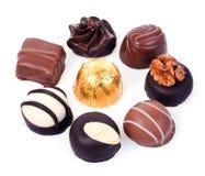 πραλίνες σοκολάτας στοκ φωτογραφίες με δικαίωμα ελεύθερης χρήσης