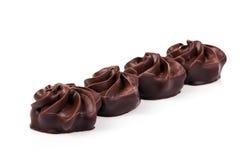 πραλίνες σοκολάτας στοκ εικόνα με δικαίωμα ελεύθερης χρήσης