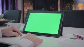 ΠΡΑΣΙΝΟ κλείδωμα ατόμων ΟΘΟΝΗΣ στο PC ταμπλετών του απόθεμα βίντεο