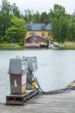 Πρατήριο καυσίμων Haapasaari καυσίμων Στοκ Φωτογραφία