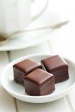 Πραλίνα σοκολάτας στοκ εικόνες