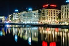 Πρεσβευτής Γενεύη ξενοδοχείων Στοκ Φωτογραφίες