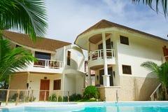 Πρεσβευτής στο ξενοδοχείο παραδείσου του νησιού Boracay στοκ εικόνες με δικαίωμα ελεύθερης χρήσης