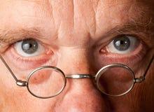 πρεσβύτερος ατόμων γυαλ& Στοκ φωτογραφία με δικαίωμα ελεύθερης χρήσης