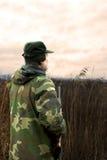 πρεσβύτερος κυνηγών Στοκ Εικόνα