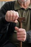 πρεσβύτερος χεριών Στοκ φωτογραφία με δικαίωμα ελεύθερης χρήσης