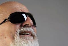 πρεσβύτερος sunglass Στοκ φωτογραφίες με δικαίωμα ελεύθερης χρήσης