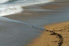 Πρηστείτε στην παραλία βλέπει λεπτομερώς στοκ εικόνες με δικαίωμα ελεύθερης χρήσης