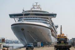 Πριγκήπισσα διαμαντιών κρουαζιερόπλοιων Στοκ εικόνα με δικαίωμα ελεύθερης χρήσης