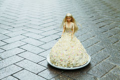 Πριγκήπισσα - κέικ Στοκ φωτογραφίες με δικαίωμα ελεύθερης χρήσης