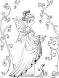 πριγκήπισσα νεράιδων Απεικόνιση αποθεμάτων