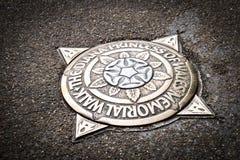 Πριγκήπισσα της Diana της αναμνηστικής πινακίδας περιπάτων της Ουαλίας στο πάρκο Λονδίνο Αγγλία UK του ST James Στοκ Εικόνες