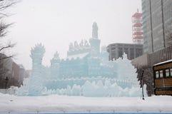 Πριγκήπισσα των άσπρων φτερών, φεστιβάλ 2013 χιονιού Sapporo Στοκ Εικόνες