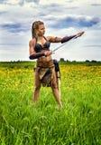 Πριγκήπισσα των αρχαίων βαρβάρων Στοκ φωτογραφία με δικαίωμα ελεύθερης χρήσης