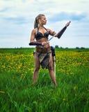 Πριγκήπισσα των αρχαίων βαρβάρων Στοκ εικόνες με δικαίωμα ελεύθερης χρήσης