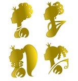 πριγκήπισσες Στοκ Εικόνες
