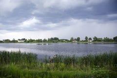 Πριν από τη βροχή Στοκ Εικόνες