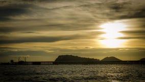 Πριν από το ηλιοβασίλεμα Στοκ Φωτογραφία