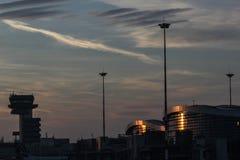 Πριν από το ηλιοβασίλεμα Στοκ Εικόνα