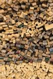 Πριονισμένες σανίδες ξυλείας Στοκ Εικόνες