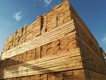πριονισμένη ξυλεία Στοκ Φωτογραφία