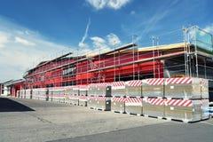 Πριονιστήριο βιομηχανικών εγκαταστάσεων - οικοδόμηση βιομηχανικού κτηρίου στοκ εικόνες