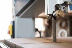 Πριόνι ζωνών μηχανών Στοκ φωτογραφία με δικαίωμα ελεύθερης χρήσης
