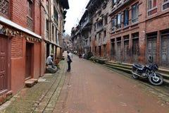 Προάστια του Κατμαντού, Νεπάλ Στοκ φωτογραφίες με δικαίωμα ελεύθερης χρήσης