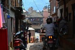 Προάστια του Κατμαντού, Νεπάλ Στοκ Εικόνα