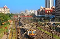 Προαστιακός σιδηρόδρομος Mumbai στοκ φωτογραφία με δικαίωμα ελεύθερης χρήσης