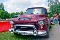 Προαστιακό ανοιχτό φορτηγό 101 1/2-τόνου GMC πρότυπο Στοκ Εικόνα
