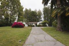 Προαστιακό εξοχικό σπίτι Καλιφόρνιας Στοκ Εικόνα