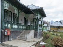 Προαύλιο μοναστηριών Suzana, Ρουμανία Στοκ φωτογραφίες με δικαίωμα ελεύθερης χρήσης