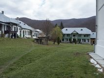 Προαύλιο μοναστηριών Suzana, Ρουμανία Στοκ Φωτογραφία