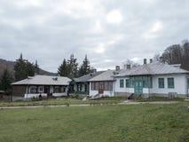 Προαύλιο μοναστηριών Suzana, Ρουμανία Στοκ εικόνες με δικαίωμα ελεύθερης χρήσης