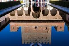 Προαύλιο Myrtles Patio de Los Arrayanes Στοκ φωτογραφία με δικαίωμα ελεύθερης χρήσης
