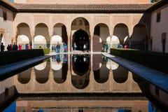 Προαύλιο Myrtles Patio de Los Arrayanes Στοκ Εικόνα