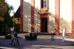 Προαύλιο ST Georg Church Nieder-Olm Στοκ εικόνα με δικαίωμα ελεύθερης χρήσης