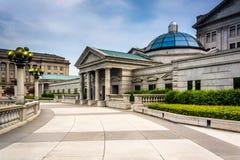Προαύλιο και κτήρια στο Capitol σύνθετο, Χάρισμπουργκ στοκ εικόνα