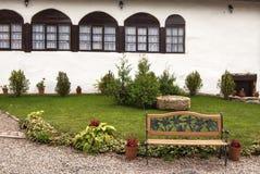 Προαύλιο μοναστηριών Στοκ Φωτογραφίες