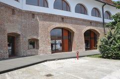 Προαύλιο της Μαρίας Therezia φρουρίων στην πόλη Timisoara από το νομό Banat στη Ρουμανία Στοκ Εικόνες