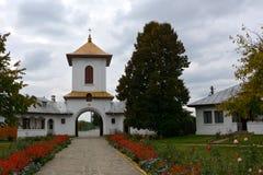 Προαύλιο του μοναστηριού Zamfira Στοκ Φωτογραφίες