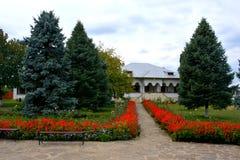 Προαύλιο του μοναστηριού Zamfira Στοκ φωτογραφία με δικαίωμα ελεύθερης χρήσης