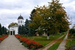 Προαύλιο του ορθόδοξου μοναστηριού Zamfira, Ρουμανία Στοκ φωτογραφία με δικαίωμα ελεύθερης χρήσης