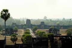 Προαύλιο Angkor Wat - Siem συγκεντρώστε - Καμπότζη Στοκ φωτογραφίες με δικαίωμα ελεύθερης χρήσης